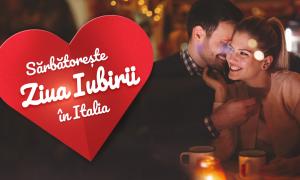 Sarbatoreste ziua iubirii in Italia