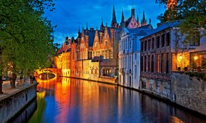 Escapada in Bruges la doar 72 euro/p (zbor + cazare + transfer)