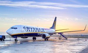 Ryanair anuleaza incepand de azi peste 80 de zboruri in fiecare zi