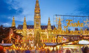Piata de Craciun din Viena, 179 euro (zbor direct + bagaj de cala + 3 nopti de cazare)